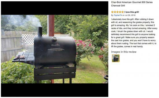 charcoal grill with adjustable grate height