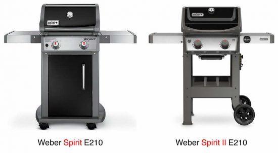 weber gas grill review comparison of weber spirit e210 and weber spirit ii e210