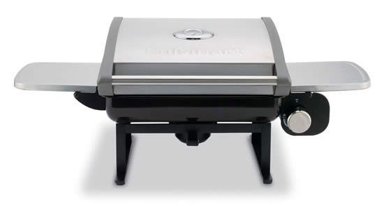 portable gas grills cuisinart cgg-200 portable tabletop gas grill review