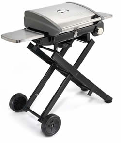 portable gas grills cuisinart cgg-240 roll-away gas grill review