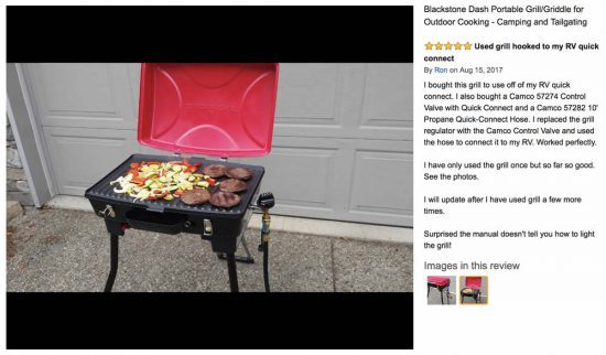 portable gas grills blackstone dash portable grill griddle review