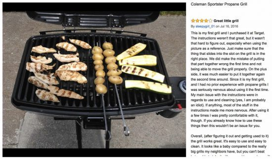 portable propane grills coleman sportster grill review