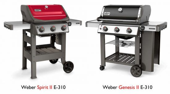 weber spirit vs. genesis grill comparison differences
