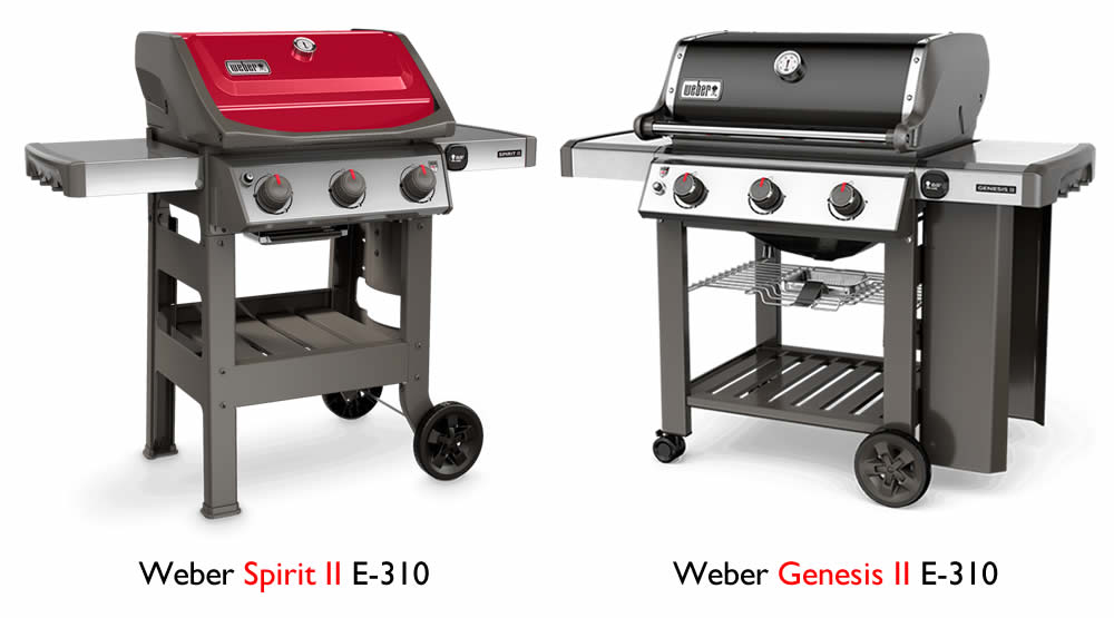 Weber Spirit vs  Genesis: What's the Difference? - GRILLGUIDE net