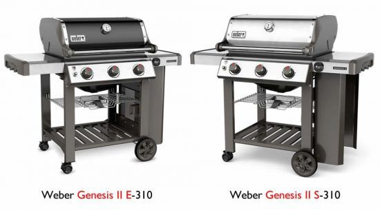 weber spirit vs. genesis grill comparison