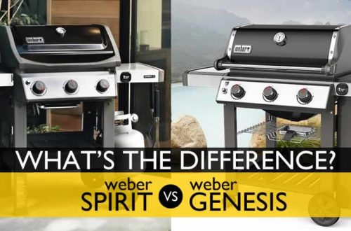 weber spirit vs. genesis, weber genesis II LX upgrades features