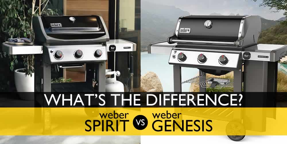 Weber Spirit vs. Genesis: What's the Difference?