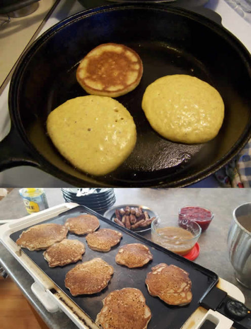 benefits of using a griddle