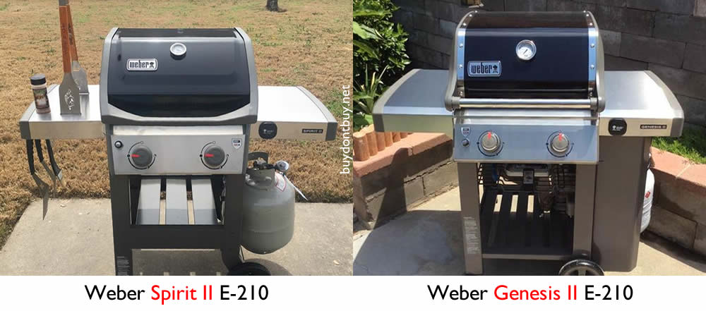 Fabulous Weber Spirit vs. Genesis: What's the Difference? - GRILLGUIDE.net QC91